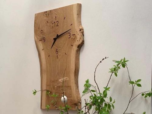 Hodiny dřevěné
